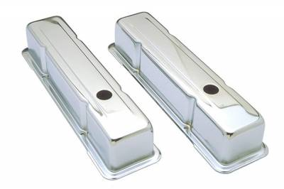 Trans-Dapt Performance Products - Trans-Dapt Performance Products 4962 Chrome Plated Steel Valve Cover - Image 1