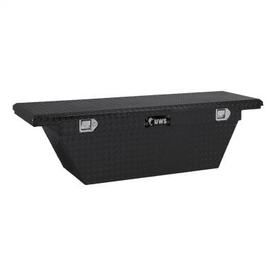 UWS - UWS TBSD-60A-LP-BLK Low Profile Series Single Lid Crossover Tool Box - Image 1