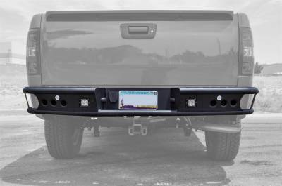 Addictive Desert Designs - Addictive Desert Designs R3023012801NA Dimple R Rear Bumper Fits Silverado 1500 - Image 2