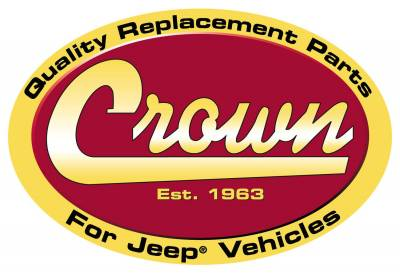 Crown Automotive - Crown Automotive J0987996 Windshield Frame Fits 69-75 CJ5 CJ6 - Image 2