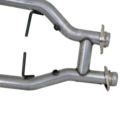 BBK Performance - BBK Performance 1538 High-Flow Short Mid H-Pipe Assembly Fits 96-04 Mustang - Image 4