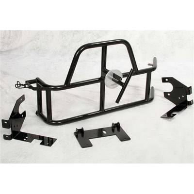 OR-FAB - OR-FAB 85201BB Swing-Away Tire/Gas Can Carrier Fits 97-06 Wrangler (TJ) - Image 1