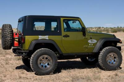 OR-FAB - OR-FAB 85201BB Swing-Away Tire/Gas Can Carrier Fits 97-06 Wrangler (TJ) - Image 2
