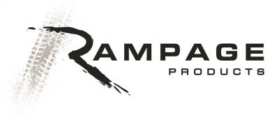 Rampage - Rampage 26227 Slimline 2 in. Round Side Bar Cab Length Fits 09-14 F-150 - Image 3