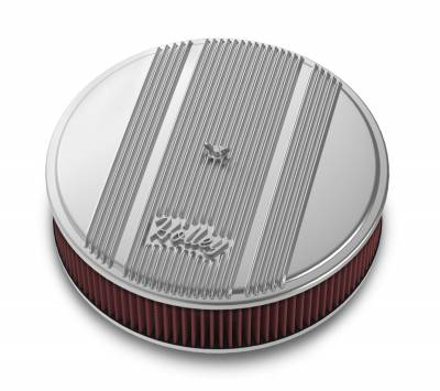 Holley Performance - Holley Performance 120-151 Round Finned Air Cleaner - Image 1