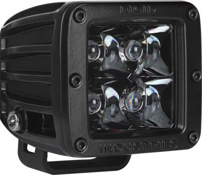 Rigid Industries - Rigid Industries 20121BLK D-Series Midnight Optic Spot Light - Image 1