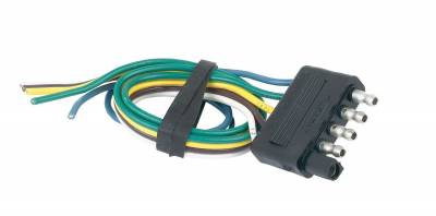 Hopkins Towing Solution - Hopkins Towing Solution 47915 5-Wire Flat Trailer End Connector - Image 1
