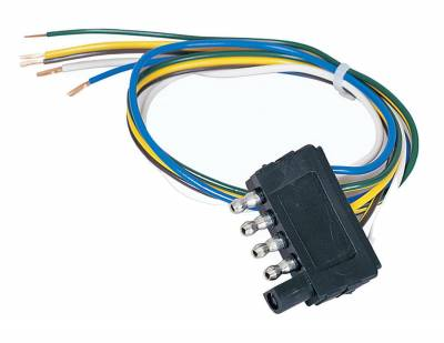 Hopkins Towing Solution - Hopkins Towing Solution 47915 5-Wire Flat Trailer End Connector - Image 2