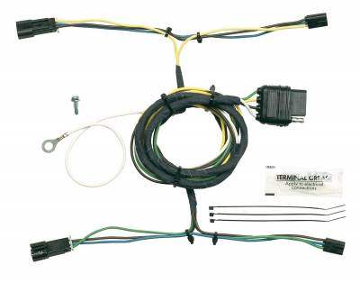 Hopkins Towing Solution - Hopkins Towing Solution 41305 Plug-In Simple Vehicle To Trailer Wiring Harness - Image 1