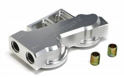 Trans-Dapt Performance Products - Trans-Dapt Performance Products 3313 Remote Oil Filter Base - Image 1