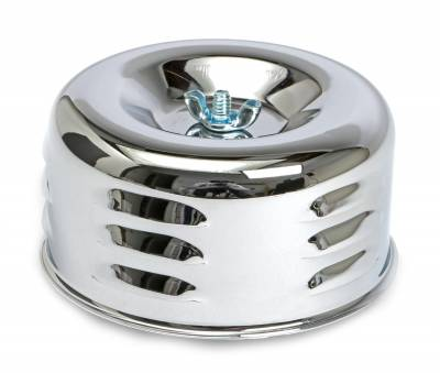 Trans-Dapt Performance Products - Trans-Dapt Performance Products 2339 Chrome Air Cleaner Louvered Style - Image 2