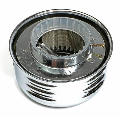 Trans-Dapt Performance Products - Trans-Dapt Performance Products 2339 Chrome Air Cleaner Louvered Style - Image 3