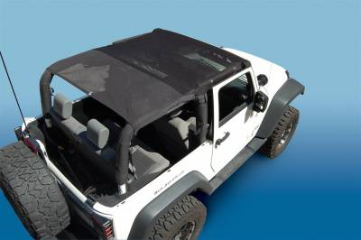 Vertically Driven Products - Vertically Driven Products 9702FJKB KoolBreez Sun Screen Fits 97-06 TJ Wrangler - Image 2