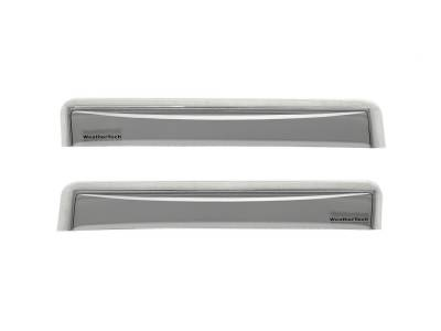 Weathertech - WeatherTech 72703 Side Window Deflector Fits 12-17 A6 A6 Quattro A8 S6 - Image 1