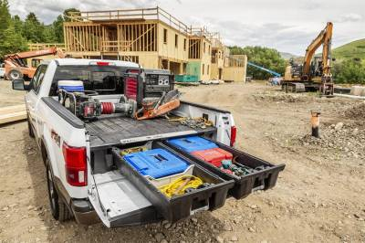 DECKED - DECKED DF3 DECKED Truck Bed Storage System Fits 04-14 F-150 - Image 7