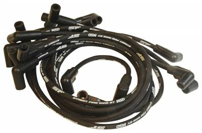 MSD Ignition - MSD Ignition 5570 Street Fire Spark Plug Wire Set Fits 88-92 Camaro Caprice - Image 1
