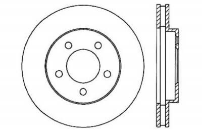 StopTech - StopTech 127.61085L StopTech Sport Rotor Fits 05-10 Mustang - Image 2