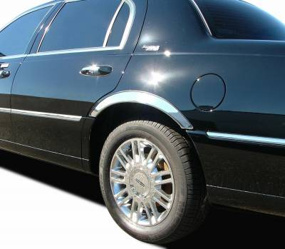 ICI (Innovative Creations) - ICI (Innovative Creations) CHR013 Stainless Steel Fender Trim Fits 11-13 300 - Image 2