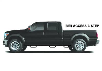 N-Fab - N-Fab N16100CC-6-TX Wheel To Wheel Nerf Step Bar w/Bed Access Fits Titan XD - Image 1
