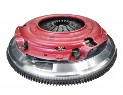 Ram Clutches - Ram Clutches 75-2100 Force 9.5 Complete Dual Disc Organic Clutch Assembly - Image 1