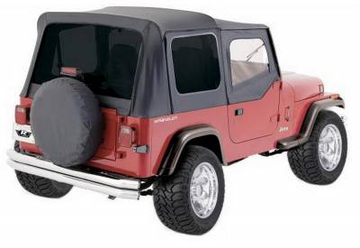 Rampage - Rampage 99415 Factory Replacement Soft Top Fits 88-95 Wrangler - Image 2