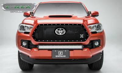 T-Rex Grilles - T-Rex Grilles 6719511 X-Metal Series Mesh Grille Assembly Fits 18-19 Tacoma - Image 2