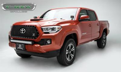 T-Rex Grilles - T-Rex Grilles 6719511 X-Metal Series Mesh Grille Assembly Fits 18-19 Tacoma - Image 3