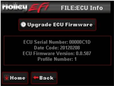 Holley EFI - Holley EFI 553-108 LCD Touchscreen Upgrade - Image 5