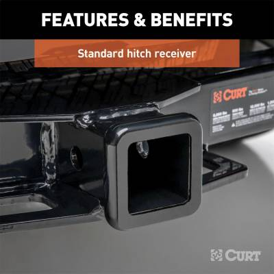 CURT - CURT 13241 Class III 2 in. Receiver Hitch Fits 05-19 Equator Frontier - Image 3