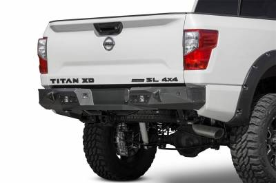Addictive Desert Designs - Addictive Desert Designs R911231280103 Stealth Fighter Rear Bumper Fits Titan XD - Image 1