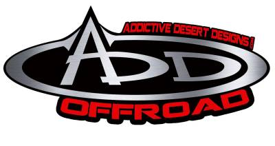 Addictive Desert Designs - Addictive Desert Designs R911231280103 Stealth Fighter Rear Bumper Fits Titan XD - Image 2