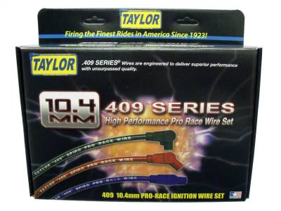 Taylor Cable - Taylor Cable 79614 409 Spiro-Pro 10.4mm Ignition Wire Set - Image 2