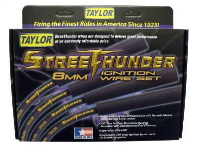 Taylor Cable - Taylor Cable 50055 Street Thunder 8mm Ignition Wire Set - Image 2