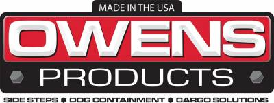 Owens Products - Owens Products OC7074ECX Classic Series Extruded 2in. Cab Length Running Boards - Image 2