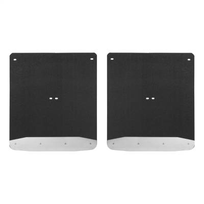 Luverne - Luverne 251544 Textured Rubber Mud Guards Fits Sierra 3500 HD Silverado 3500 HD - Image 1