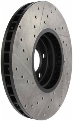 StopTech - StopTech 127.34060L StopTech Sport Rotor Fits 02-06 X5 - Image 5