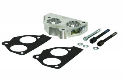 Taylor Billet Specialties - Taylor Billet Specialties 57005 Helix Power Tower Plus Throttle Body Spacer - Image 1