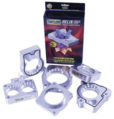 Taylor Billet Specialties - Taylor Billet Specialties 50065 Helix Power Tower Plus Throttle Body Spacer - Image 2