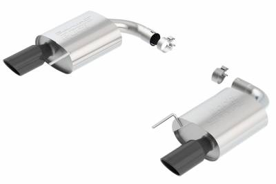 Borla - Borla 11887BC S-Type Axle-Back Exhaust System Fits 15-17 Mustang - Image 1