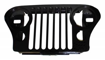 Crown Automotive - Crown Automotive J5752656 Grille Fits 76-86 CJ5 CJ7 Scrambler - Image 1