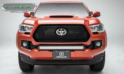 T-Rex Grilles - T-Rex Grilles 6719511-BR Stealth Torch Series LED Light Grille Fits 18-19 Tacoma - Image 2